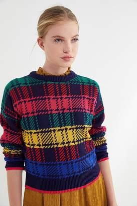 Urban Outfitters Andi Intarsia Knit Crew-Neck Sweater