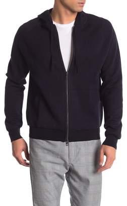 Toscano Wool Hooded Full Zip Jacket