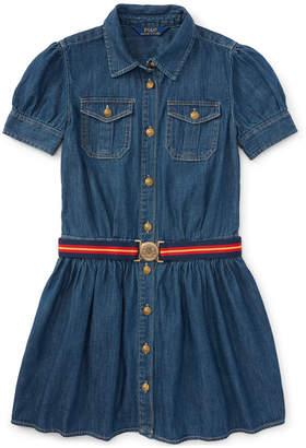 Polo Ralph Lauren Ralph Lauren Denim Shirtdress, Toddler Girls