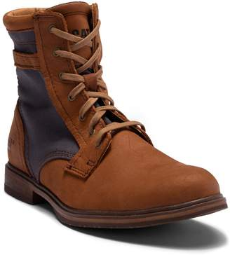 CAT Footwear Abe Canvas II Leather Mid-Top Boot