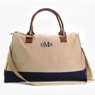 MonogramOnline Embroidered Monogram Weekender Bag