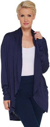 Lisa Rinna Collection Open Front Cocoon Cardigan