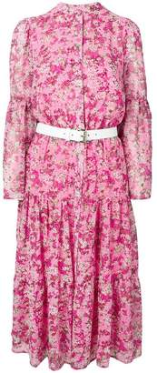 MICHAEL Michael Kors floral flared dress