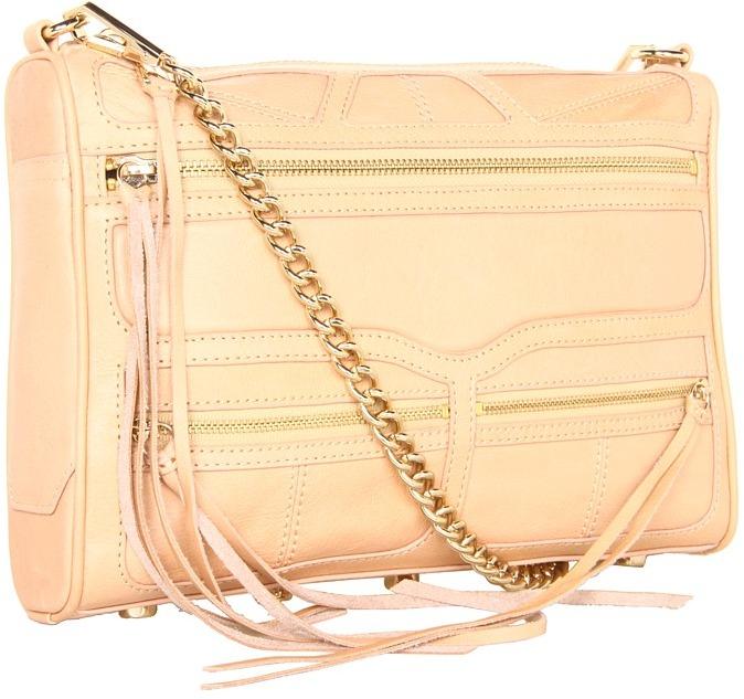 Rebecca Minkoff - M.A.C. Triple Zip (Sand) - Bags and Luggage