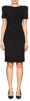 Giorgio Armani Women's Jersey Puff-Sleeve Sheath Dress