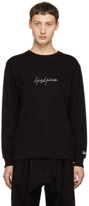 Yohji Yamamoto Black New Era Edition Long Sleeve T-Shirt