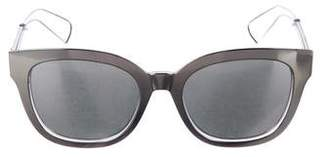 Christian Dior Mirrored Cannage Sunglasses