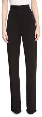 Brandon Maxwell Classic Suiting Trousers $795 thestylecure.com