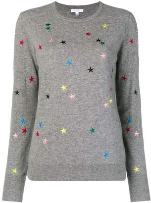 Equipment star embroidered sweater