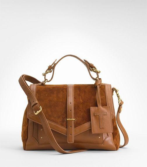 797 Suede Messenger Bag