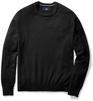 Buttoned Down Men's Cashmere Crewneck Sweater