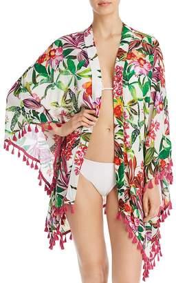 6bd84d9cc4 Trina Turk Welcome To Miami Kimono Swim Cover-Up - 100% Exclusive