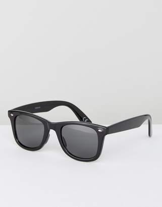Asos Square Sunglasses In Black
