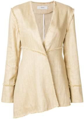 Pringle asymmetric front blazer