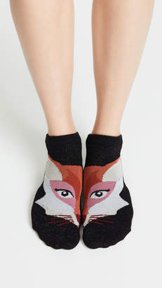 Kate Spade Fox No Show Sock 3 Pack