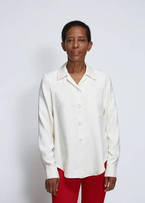 Lorod Long Sleeve Silk Bowling Shirt