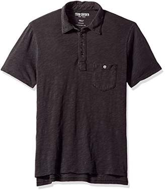 Todd Snyder Men's Weathered Pocket Polo Shirt