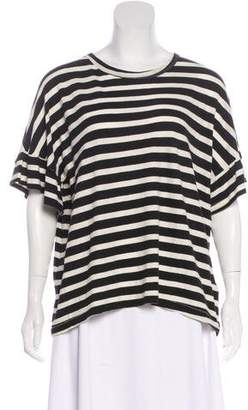 The Great Oversize Striped Top