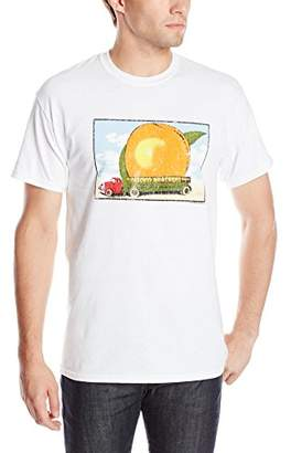 FEA Men's Allman Brothers Band Eat A Peach Distressed Double Sided T-Shirt