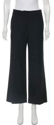 Victoria Beckham Mid-Rise Wide-Leg Pants