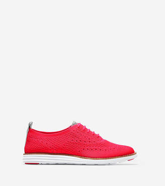 Cole Haan Women's ØriginalGrand Wingtip Oxford with StitchliteTM