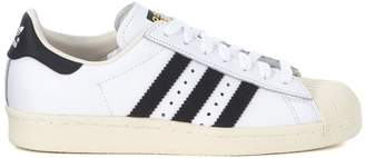 adidas Superstar Boost White Leather Sneaker