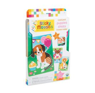 Factory Orb Sticky Mosaics Travel Packs Puppies