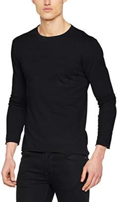 Replay Men's M3514 .000.22326 Long Sleeve Top,Small