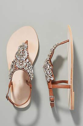 Anthropologie Shelley Embellished Sandals