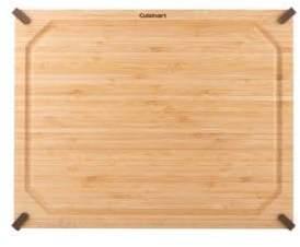Cuisinart 11 Inchx14 Inch Non-Slip Bamboo Cutting Board