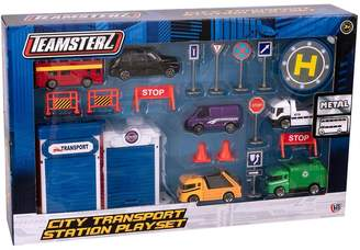 Teamsterz Teamsterz 3 Inch Die Cast City Transport Playset