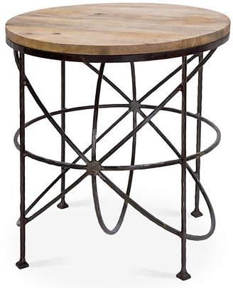Regina-Andrew Design Armillary Side Table - Antiqued Iron - Regina Andrew Design