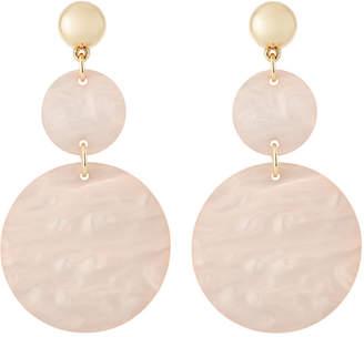 Fragments Pink Shell Statement Earrings 4zpsS0rqNE