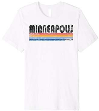 Vintage 1980s Style Minneapolis MN T Shirt