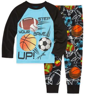 LICENSED PROPERTIES All Sport 2 Piece Pajama Set - Boys 4-20