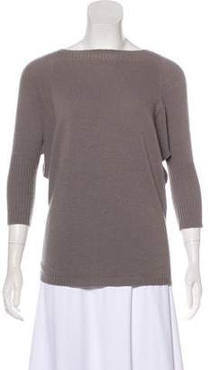 Max Mara Crew Neck Dolman Sweater