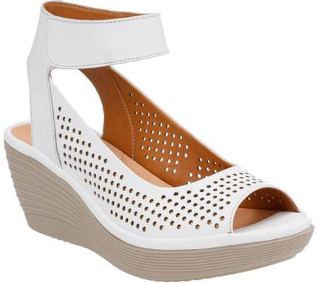 ClarksWomen's Clarks Reedly Salene Wedge Ankle Strap