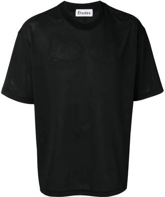 Études mesh T-shirt