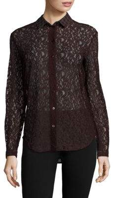 Carven Solid Paisley Shirt