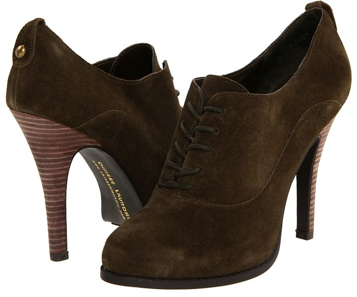 Chinese Laundry Lannie (Olive Suede) - Footwear