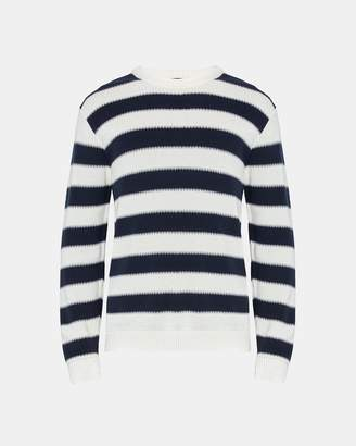 Theory Degrade Stripe Crewneck Sweater