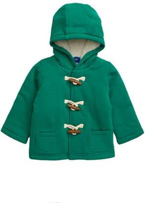 Boden Mini Jersey Duffle Coat