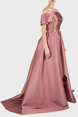Elizabeth Kennedy Beaded Ball Gown