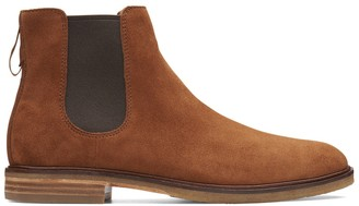 Clarkdale Gobi Suede Chelsea Boots