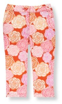 Janie and Jack Floral Pant