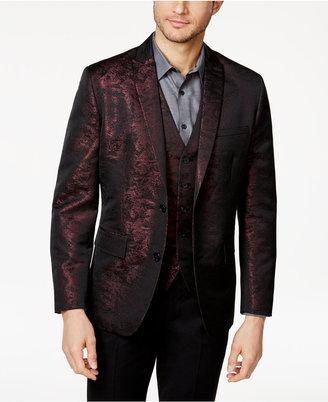 Inc International Concepts Men's Slim-Fit Jacquard Blazer, Created for Macy's $129.50 thestylecure.com