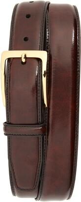 Johnston & Murphy Smooth Leather Belt