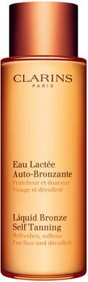 Clarins Liquid Bronze Self Tanning for Face & Decollete, 4.2 oz./ 124 mL