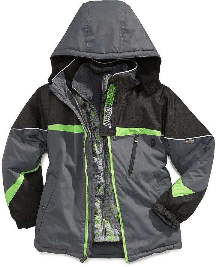 Hawke & Co Kids Jacket, Little Boys 4-in-1 Systems Jacket