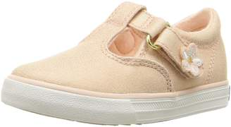 Keds Kids Daphne First Walker Shoes, Metallic/Rose Gold